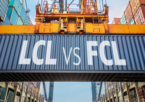 LCL and FCL cargo
